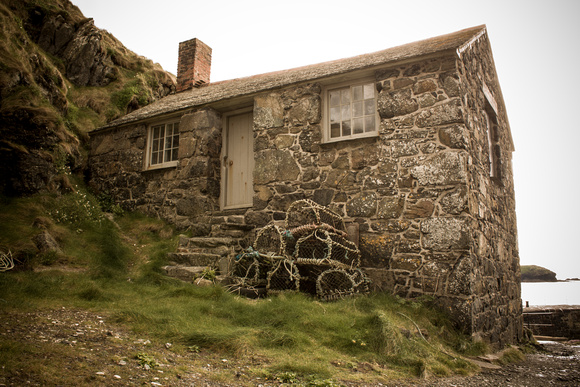 The old Mullion boat house